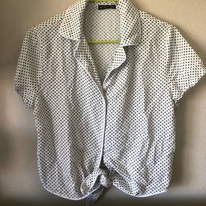 Cotton On polka dot blouse